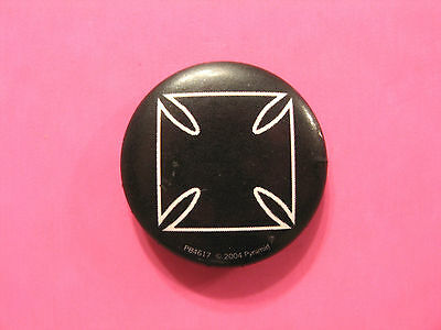 Maltese Cross Iron Cross Button Badge Pin Not Patch Medal Uk Import