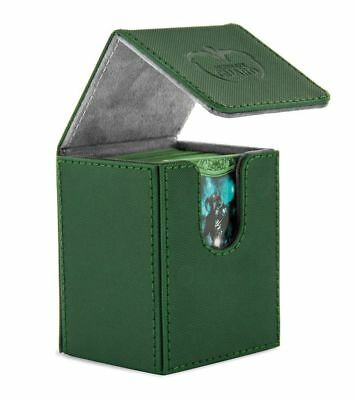 Ultimate Guard - FLIP DECK CASE XENOSKIN 100+ Green - Cards Boxing Gaming Boxing