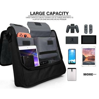Travel Bag Carry Case & Strap For Nintendo Switch Dock & Accessory Storage UK