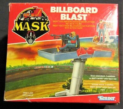 "M.A.S.K. MASK Action-Figur v. Kenner / "" Billboard Blast "" / OVP neu + in Folie"