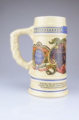 The House Of Wiebracht Beer Stein 1991 Old Style Lager Made In USA C