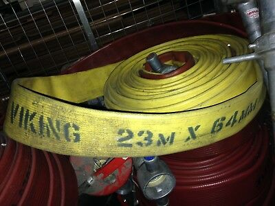 Viking  64Mm - Fire Hose - 75Ft (23 Metres) Long