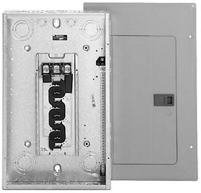 Main Lug Load Center Eaton 125 Amp 12-Space 24-Circuit Type BR 3 Phase Plug In