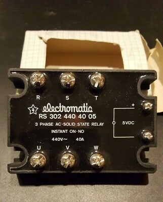 electromatic solid state relay RS 302 440 40 05
