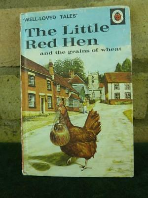 Vintage Ladybird book well loved tales The Little Red Hen 606D price 30p