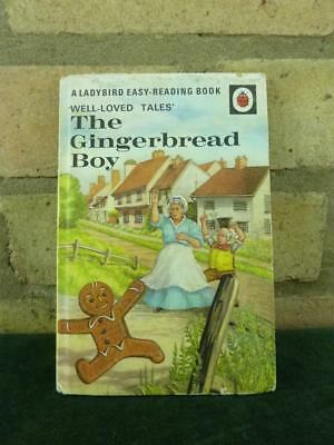 Vintage Ladybird book well loved tales The Gingerbread Boy 606D price 40p