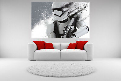 Stormtrooper Star Wars Canvas Giclee Print Unframed Home Decor Wall Art