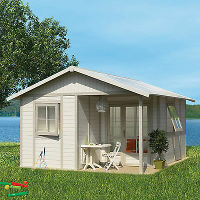 Garden Cabin Grosfillex Deco 16 x 13ft PVC Model Deco 20B  Shed Outdoor Country