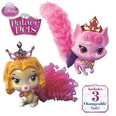 Disney Princess Palace Pets Fashion Tail Belle Or Aurora-Inc 3 Changeable Tails