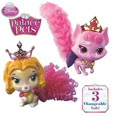 Disney Princess Palace Pets Fashion Tail Belle or Aurora - inc 3 changable tails