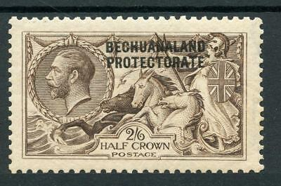 Bechuanaland Protectorate 1912-14 D.L.R. 2/6 pale brown SG85 MM