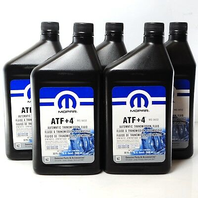 5L Original Mopar ATF+4 ATF 4 Automatik Getriebeöl Chrysler Jeep Dodge