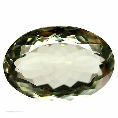 23.25 CT AAA! NATURAL! 16 X 23 mm. GREEN URUGUAY AMETHYST OVAL