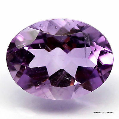6.96 Ct. Natural! Purple Clr Change To Pink Brazil Amethyst Oval