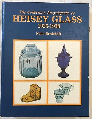 Collector's Encyclopedia of HEISEY GLASS: 1925-1938 by Neila Bredehoft (1986, HB