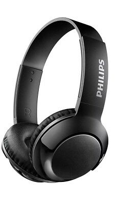 Philips Bass On Ear Wireless Bluetooth Headphones With Mic Black Shb075bk 27 For Sale Picclick