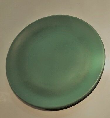 """CATALINA Pottery California GREEN 11.25"""" Chop Plate or Platter"""