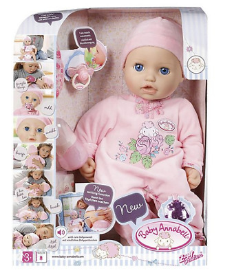 Zapf Creation Baby Annabell Doll With Wetting Function