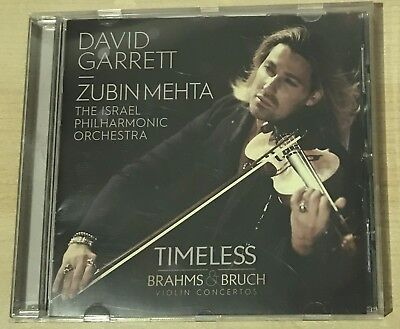 David Garrett - Zubin Mehta The Israel Philharmonic Orchestra Klassik CD