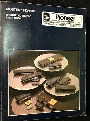 Mostek Microelectronic Data Book 1982/1983, Vintage Computer Data