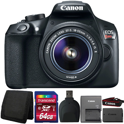 Canon EOS Rebel T6 Digital SLR Camera w/ 18-55mm Lens and Ultimate Accessory Kit