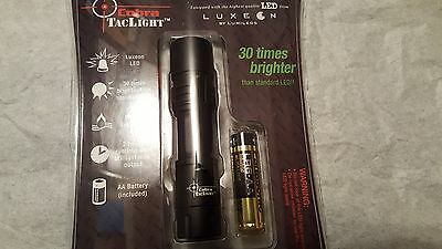 WHOLE SALE COBRA TACLIGHT WATER RESISTANT LED 30 TIMES BRIGHTER 25 units retail