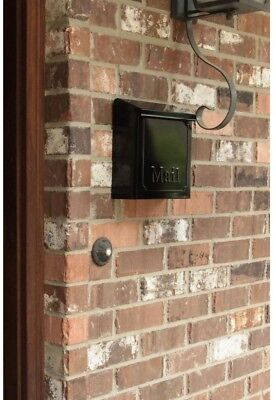 locking residential mailboxes. Mailboxes Townhouse Steel Vertical Wall-Mount Locking Residential Mailbox,  Black Locking Residential Mailboxes O