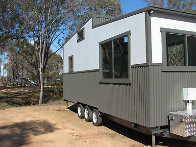 Tiny House THOW 8 meter x 2.4 Rolling shell - Ready to just fit out