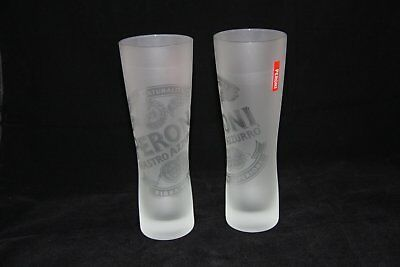 Peroni Frosted Pint Beer Glasses 500ml