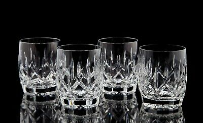 Waterford Westhampton Double Old Fashioned Glasses, Set of (4), Original Box