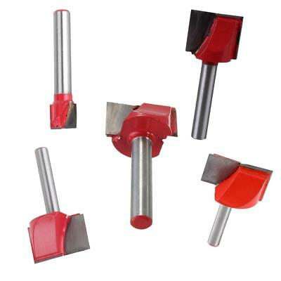"""5Pcs Magideal Woodworking CNC Engraving V Groove Router Bit - 1/4"""" Shank"""