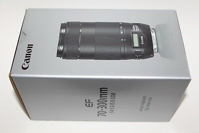 BRAND NEW Canon EF 70-300mm F/4-5.6 II IS Nano USM Lens Image Stabilizer