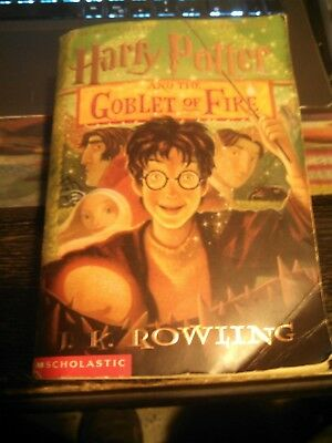Harry Potter and the Goblet of Fire by J.K. Rowling  Paperback Book