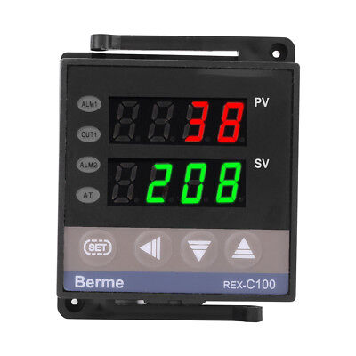 110V/220V REX-C100 Digital PID Temperature Controller RELAY & SSR Thermostat JS