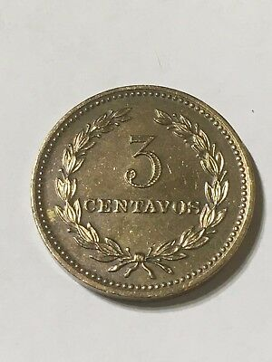 El Salvador Coin 3 Cents 1974 - The Last One 3 Cents Coin Minted