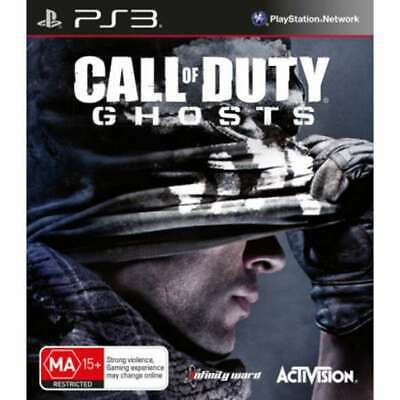CALL OF DUTY GHOSTS Sony Playstation 3 PS3 Game PAL