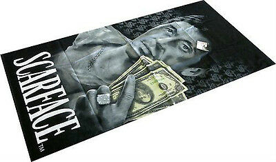 Licensed Scarface Tony Montana Hustler Fiber Reactive Beach/Bath Towel 30x60