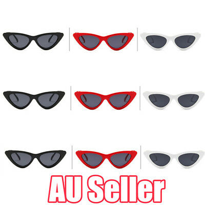 Unisex Womens Mens Retro Vintage Cat Eye Round Glasses Fashion Sunglasses EA