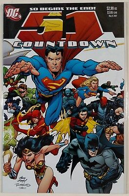 Countdown 1-51 (DC 2007-2008) Complete Set - HIGH GRADE - UNREAD
