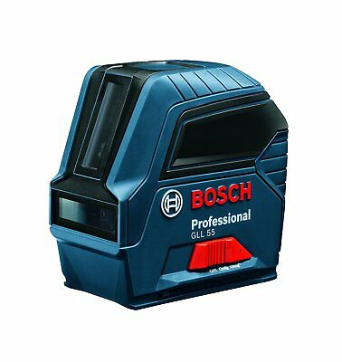 Bosch Self-Leveling Cross-Line Laser, GLL 55