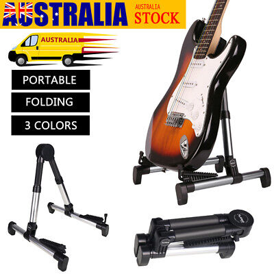 Portable Guitar Stand A Frame For Acoustic Electric Classical Guitar Bass Rack