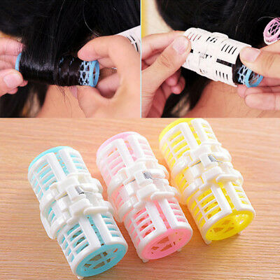 DIY Hair Salon Curlers Rollers Tool Soft Small Hairdressing Tools Plastic BW