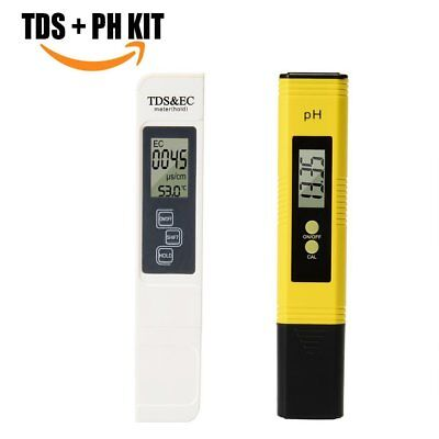 Professional Digital PH TDS EC Meter Tester Home Pool Spa Tap Drinking Water UK