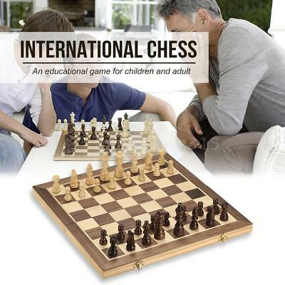 40cm*40cm Folding Board Educational Wooden Chess Set International Chess N9J1