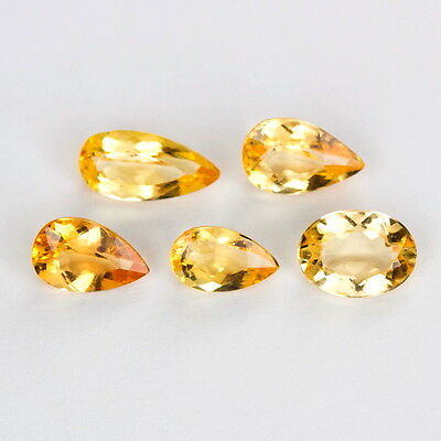 TOP IMPERIAL TOPAZ LOT : 5,51 Ct Natürlicher Unbehandelt Imperial Topas Orange