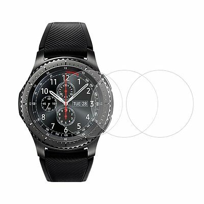3 x Samsung Gear S3 Smart Watch Full-Coverage Tempered Glass Screen Protector