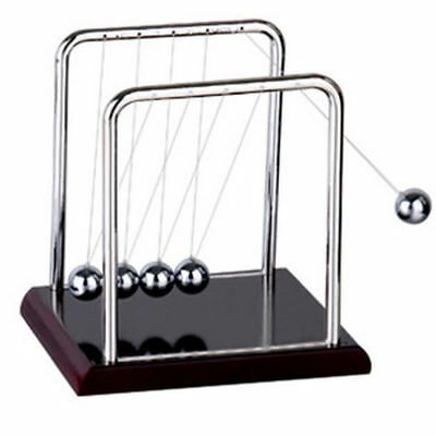Newton Cradle Steel Balance Ball Physics Science Pendulum Gifts Toy Desk Decor