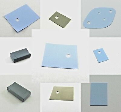 Thermal Silicone Pads Conduction Transistor Electrical Insulator Film Boot Grey