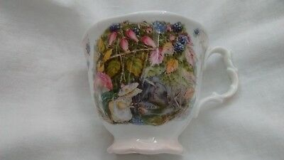 "Brambly Hedge, Royal Doulton, Tasse ""Autumn"" (Herbst) Rarität!"