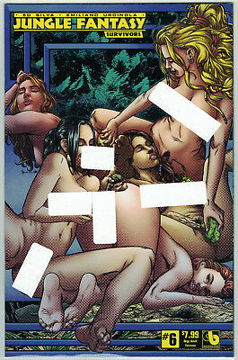 Jungle Fantasy Survivors #6 Orgy Adult Extreme Variant Cover